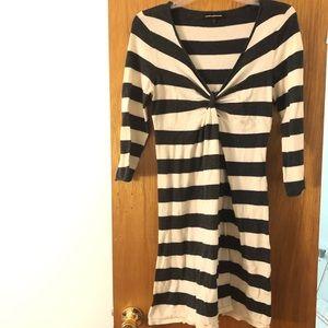 Express Design Studio Striped Dress Women's Sz M